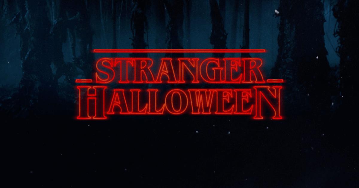 Stranger Things Happy Halloween